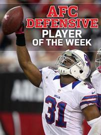 BDC 10/17: Byrd Named AFC Defensive Player of the Week