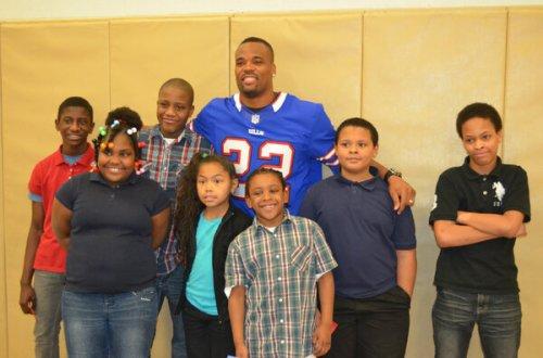 BDC 3/5: Jackson Visits Harvey Elementary