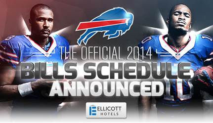 BDC 4/24: Bills 2014 Schedule Released